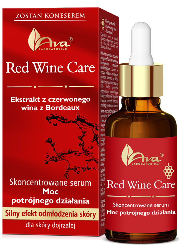 AVA Red Wine Care serum